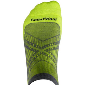 Smartwool PhD Run Light Elite Low Cut Socks graphite/sw green